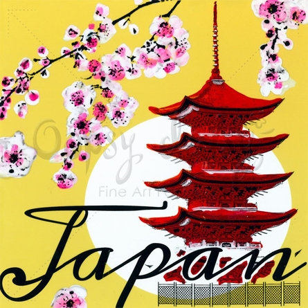 Take Me Away Japan Canvas Wall Art