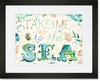 Take Me to the Sea Framed Art Print