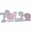 Talia Princess Hand Painted Wall Letters
