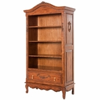 Tall French Bookcase in Chateau