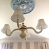 Tamera Spindle Chandelier with Shades