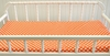 Tangerine Dot Changing Pad Cover