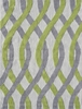 Tangled Green and Gray Rug