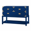 Tansu Console Table - High Gloss Navy