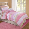 Tara Stripe Quilt with Pillow Sham