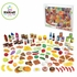 Tasty Treats 125 Piece Play Food Set