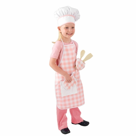 Tasty Treats Chef Accessory Set in Pink
