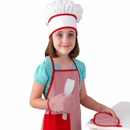 Tasty Treats Chef Accessory Set in Red