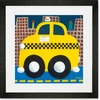 Taxicab Framed Art Print