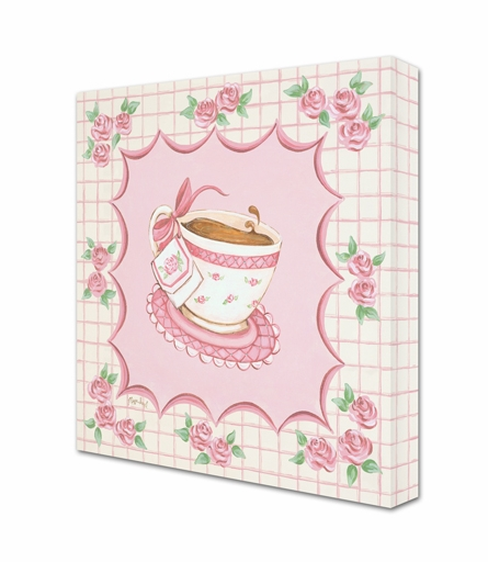 Tea Party Cup 1 Canvas Reproduction