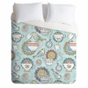 Tea Time Lightweight Duvet Cover