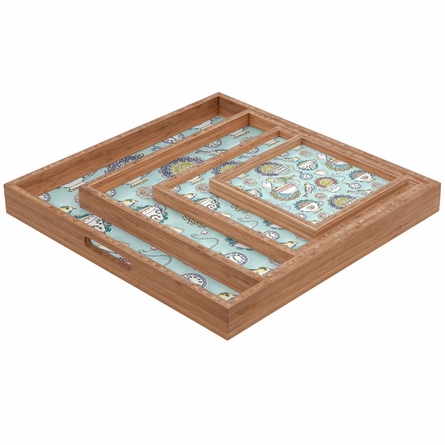 Tea Time Square Tray