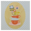 Teacups Wall Plaque