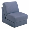 Teen Chair in Denim with Pillow