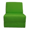 Teen Chair in Lime Green Canvas with Pillow