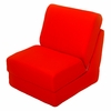 Teen Chair in Orange Canvas