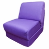 Teen Chair in Purple Canvas