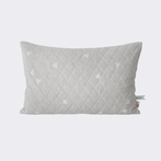 Teepee Quilted Pillow - Grey