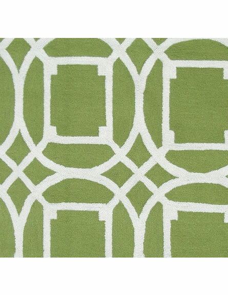 Telescope Green Rug