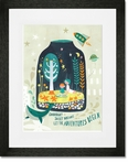Terrarium Dreams Framed Art Print