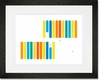 Test Tubes Framed Art Print