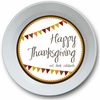Thanksgiving Banner Personalized Bowl