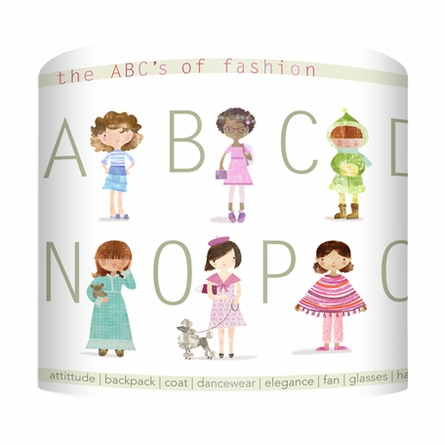 The ABCs of Fashion Lamp
