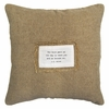 The Best Part Of The Day Patch Throw Pillow