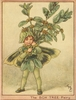 The Box Tree Fairy Canvas Reproduction