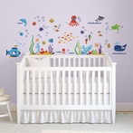 The Deep Blue Sea Wall Decals