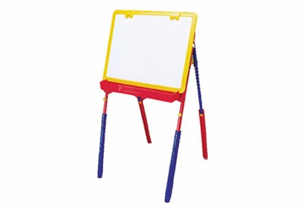 The Grow With Your Child Art Easel in Primary Colors
