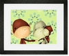 The Monkeys Three Framed Art Print