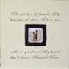 The Sea Has Its Pearls Square Picture Frame