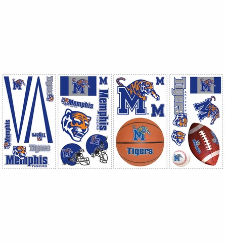 The University of Memphis Peel & Stick Applique