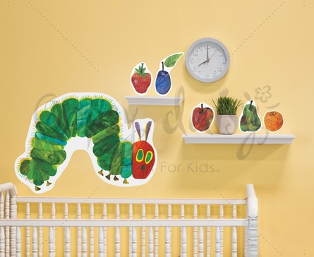 The Very Hungry Caterpillar Small Peel & Place Wall Stickers