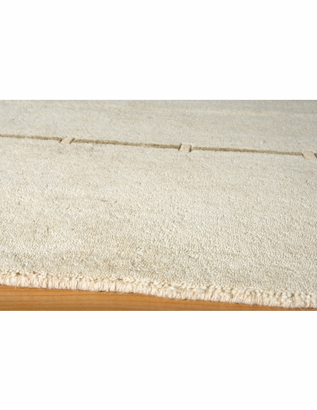 Thin Stripe Beige Rug
