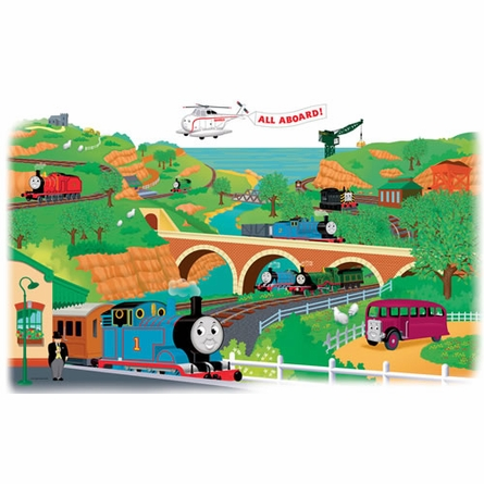 Thomas & Friends Giant Peel & Stick Wall Mural