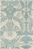 Thomaspaul Damask Rug in Light Blue