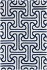 Thomaspaul Maze Links Rug in Blue