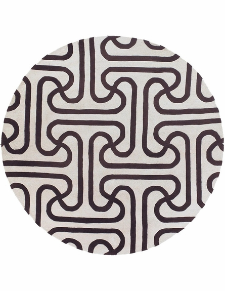 Thomaspaul Maze Links Rug in Brown
