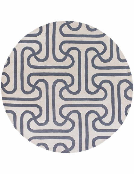 Thomaspaul Maze Links Rug in Gray