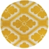 Thomaspaul Modern Floral Rug in Yellow