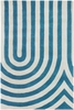 Thomaspaul Modern Lines Rug in Blue
