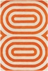 Thomaspaul Modern Lines Rug in Orange