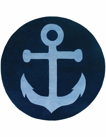Thomaspaul Nautical Anchor Rug