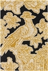 Thomaspaul Whimsy Bird Rug in Gold