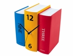 Three Books Table Clock in Primary