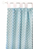 Tiffany Blue Dot Curtain Panels - Set of 2