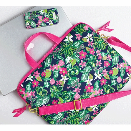 Tiger Lilly Laptop Tote