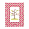 Tiger lily Fuchsia Fabric Covered Picture Frame
